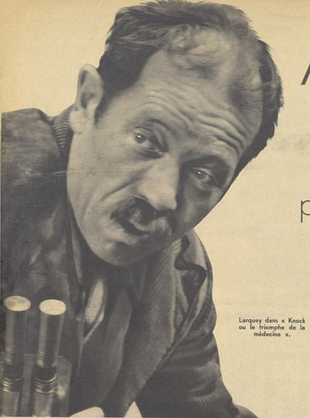 Pierre Larquey dans Knock (Pour Vous 1937)