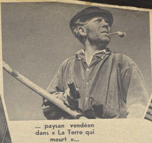 Pierre Larquey dans La terre qui se meurt (Pour Vous 1937)