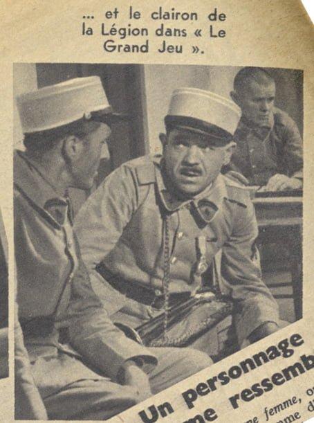 Pierre Larquey dans Le Grand Jeu (Pour Vous 1937)