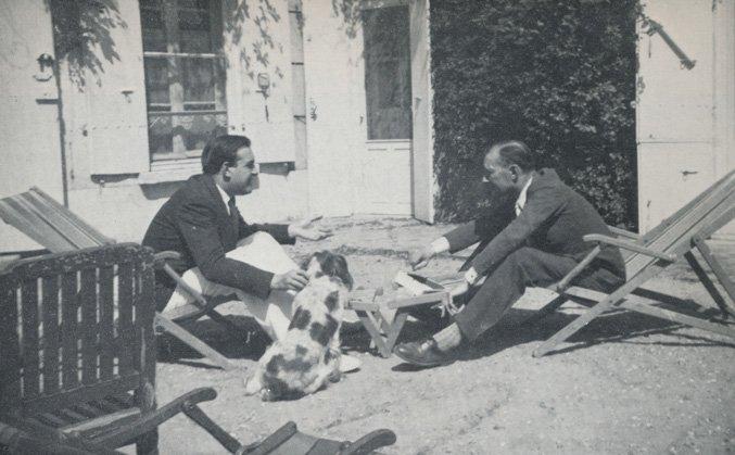 Charles Spaak et Jacques Feyder dans les années trente à Gambai