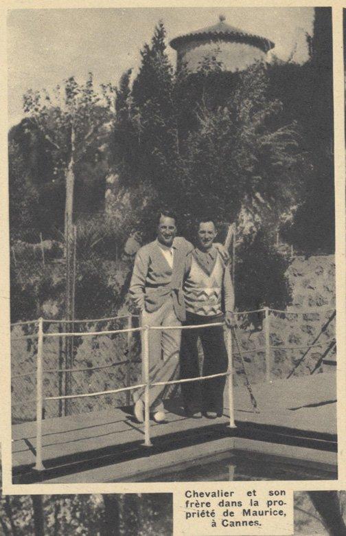 Maurice Chevalier (Pour Vous 1935)