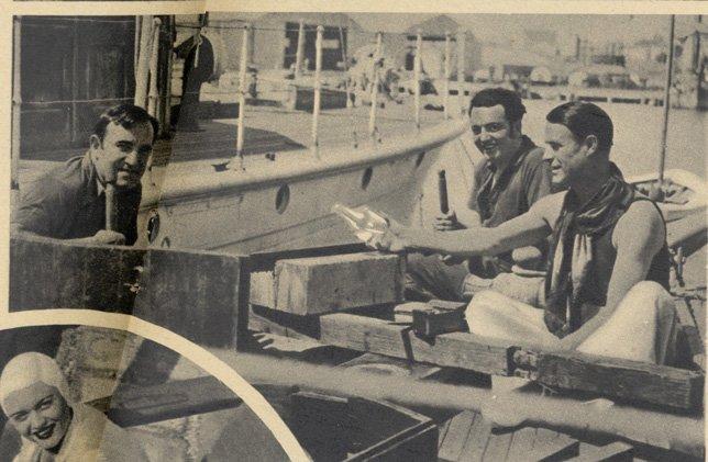 Charles Vanel, Raymond Cordy, Gaston Modot (Pour Vous 1935)