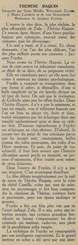 Cinémagazine du 27 avril 1928