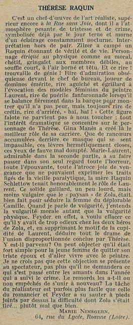 Cinémagazine le 22 février 1929