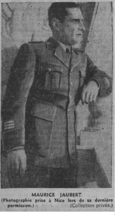 Maurice Jaubert en 1940