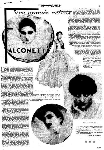 Les Dimanches de la femme (05.01.1930)