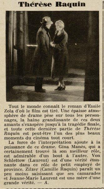 Pour Vous le 6 décembre 1928
