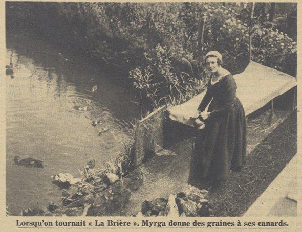 Myrga (Pour Vous daté du 16 mai 1929)