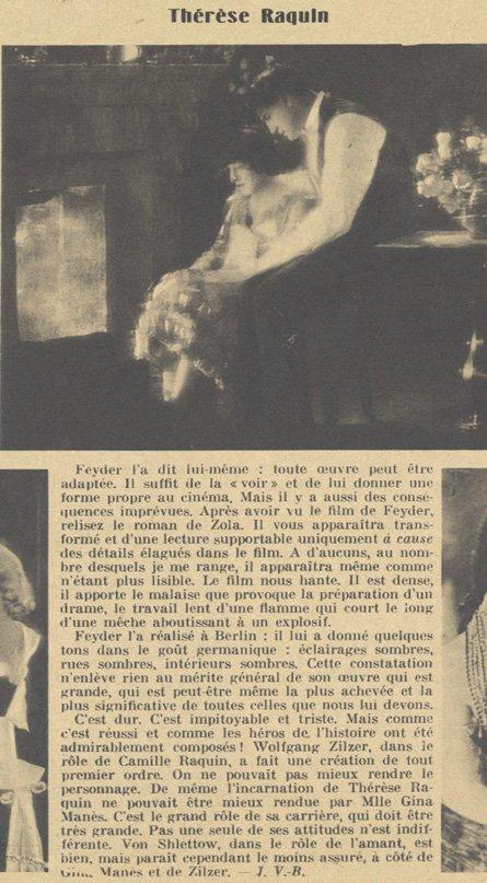 Pour Vous du 18 juillet 1929