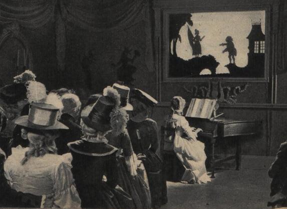 Une scène de La Marseillaise de Jean Renoir (Regards 10.02.1938)