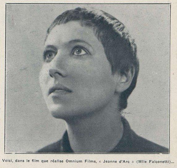 Falconetti (Cinémagazine du 15 juillet 1927)