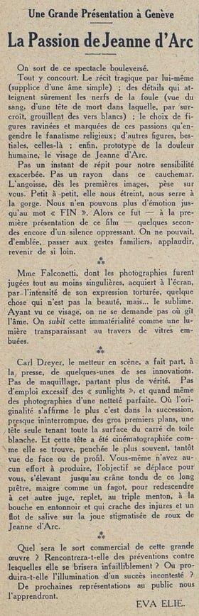 Cinémagazine du 18 mai 1928
