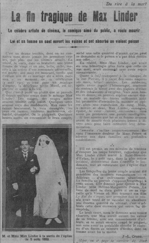 Comoedia du 1 novembre 1925