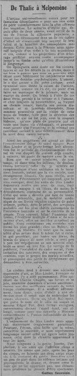 Comoedia du 6 novembre 1925