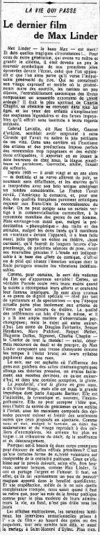 Le Gaulois du 02 novembre 1925