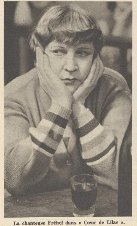 Fréhel dans Pour Vous du 21 avril 1932