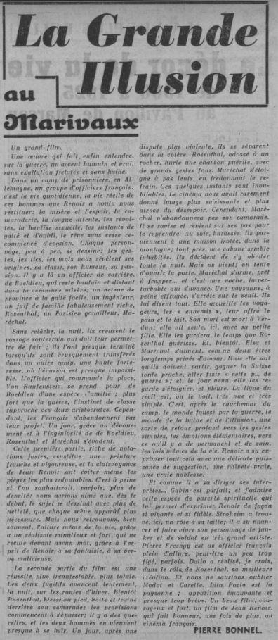 Ce Soir du 12 juin 1937