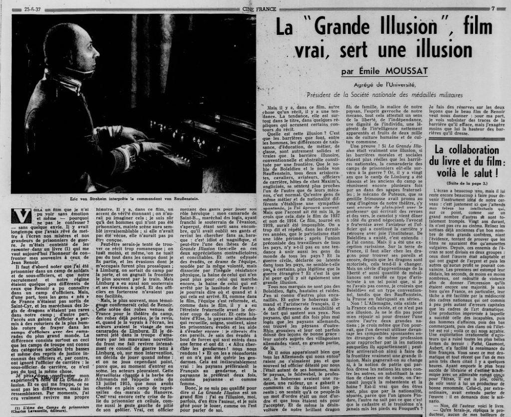 Ciné-France du 25 juin 1937