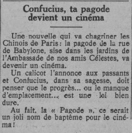 Comoedia du 03 février 1931