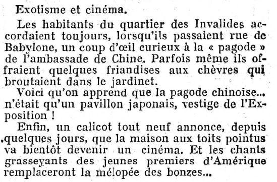 Le Figaro du 08 février 1931
