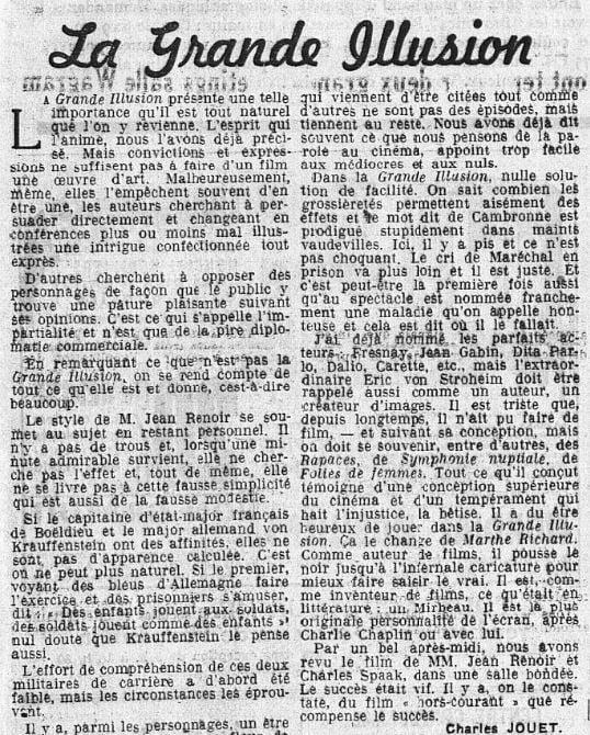 Le Populaire du 18 juin 1937