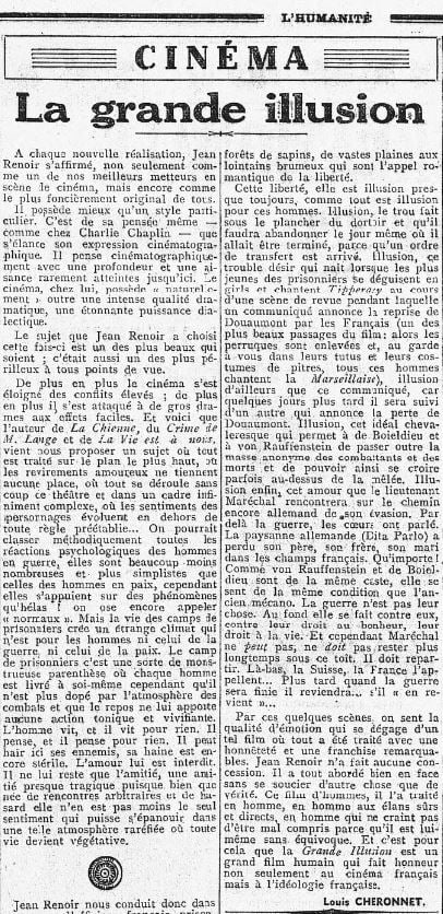 L'Humanité du 16 juin 1937