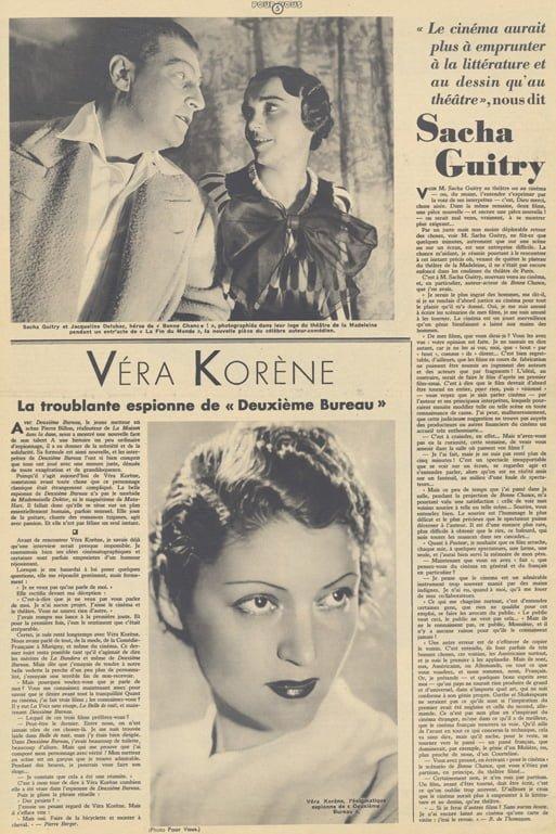 Pour Vous du 03 octobre 1935