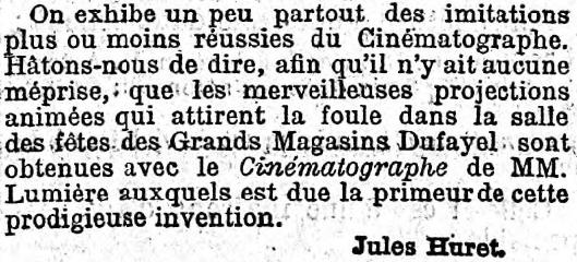Le Figaro du 28 juin 1896