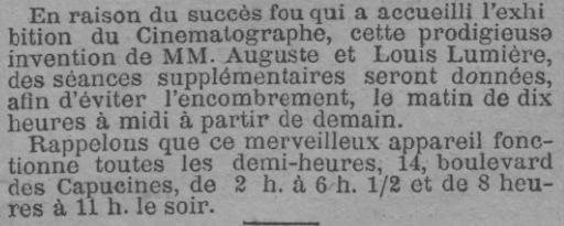 Le Journal du 05 février 1896