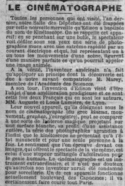 Le Petit Parisien du 04 janvier 1896