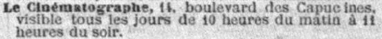 Le Petit Parisien du 11 février 1896