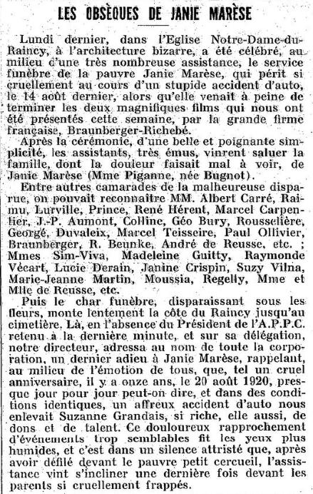 Hebdo-Film du 19 septembre 1931