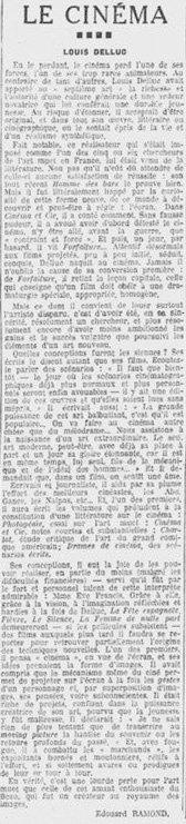 Les Nouvelles Littéraires du 29 mars 1924