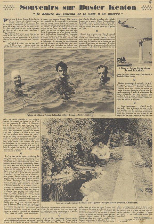 Pour Vous du 21 août 1930