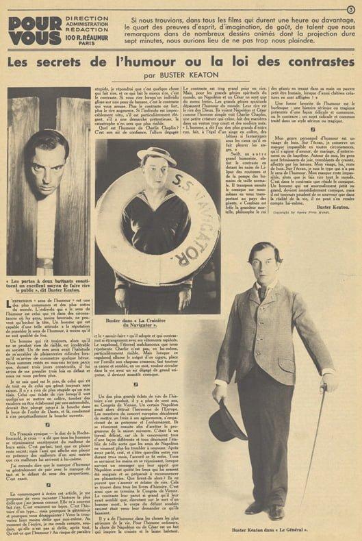 Pour Vous du 28 juillet 1932