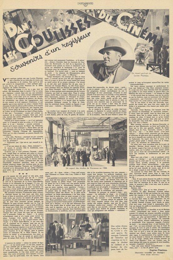 Pour Vous du 17 octobre 1935
