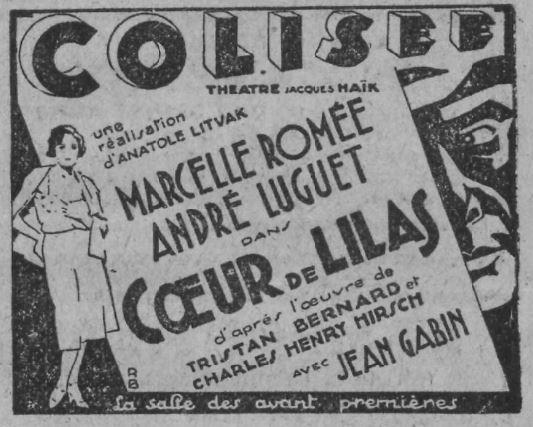 Comoedia du 12 février 1932