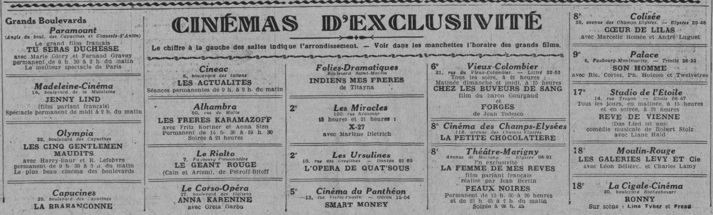 Comoedia du 13 février 1932