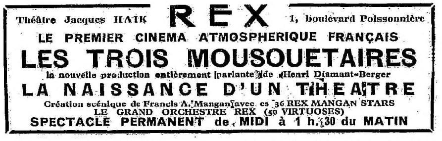 La Semaine à Paris du 16 décembre 1932