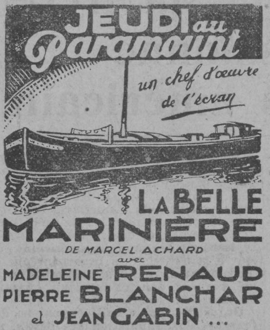 Paris-Soir du 30 novembre 1932