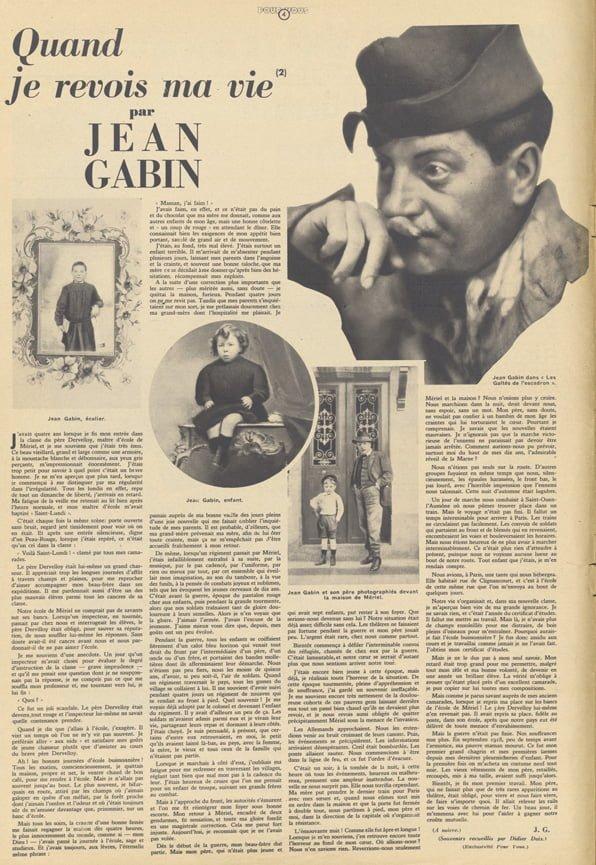 Pour Vous du 12 Septembre 1935