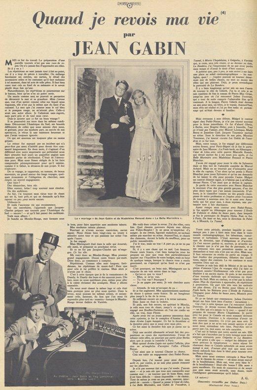 Pour Vous du 26 Septembre 1935
