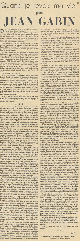 Pour Vous du 10 Octobre 1935