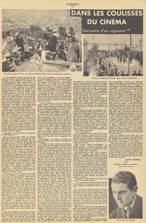 Pour Vous du 14 novembre 1935