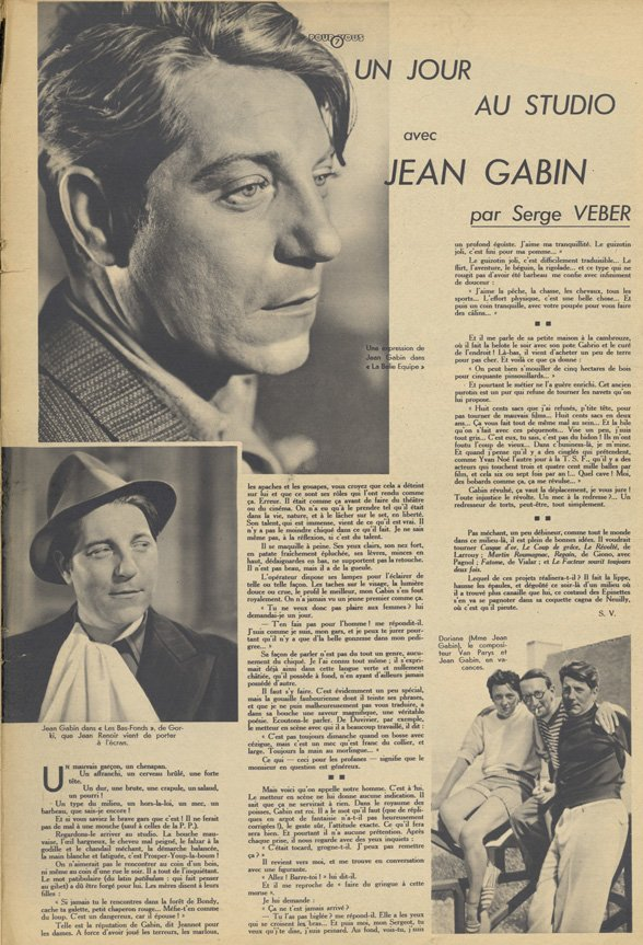 Pour Vous du 24 septembre 1936
