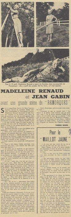 Pour Vous du 23 Août 1939
