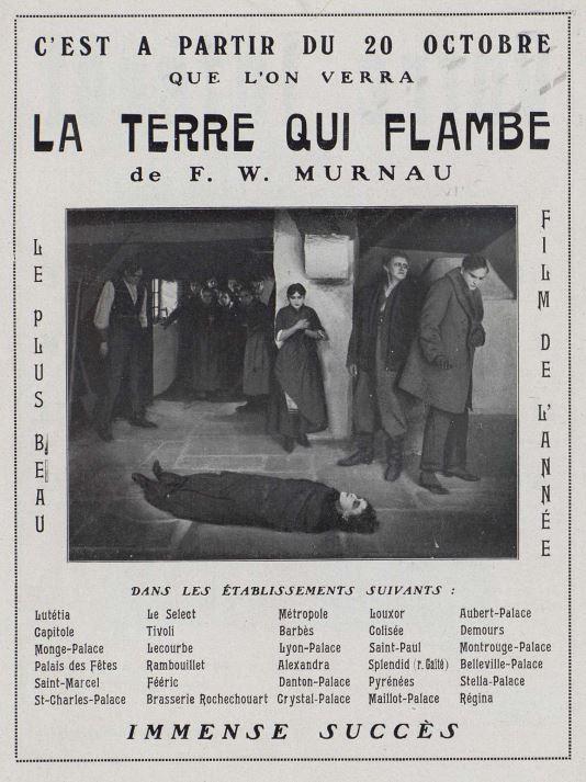 Cinéa du 20 octobre 1922