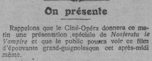 Comoedia du 20 octobre 1922