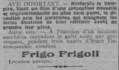 L'Echo d'Alger du 13 avril 1924