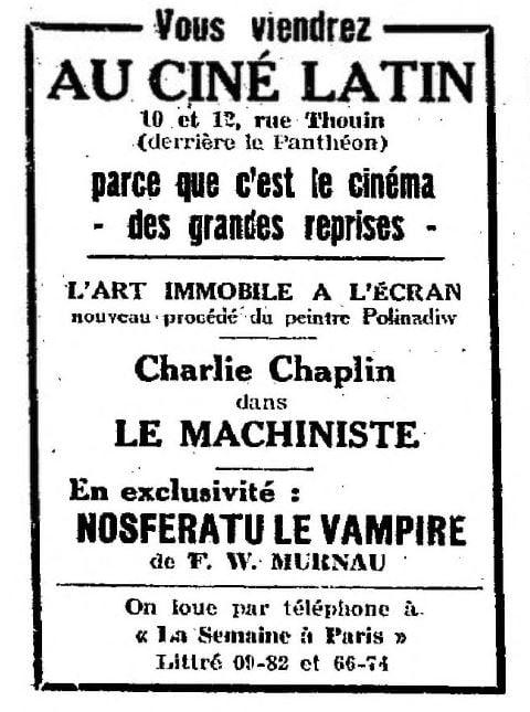 La Semaine à Paris du 24 février 1928